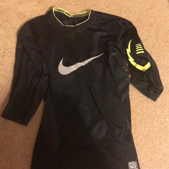 15fe1c5b Nike Shirts | Pro Combat Compression Dri Fit Football Shirt | Poshmark